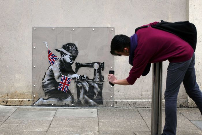 Banksy o artista desconhecido mais conhecido mundialmente