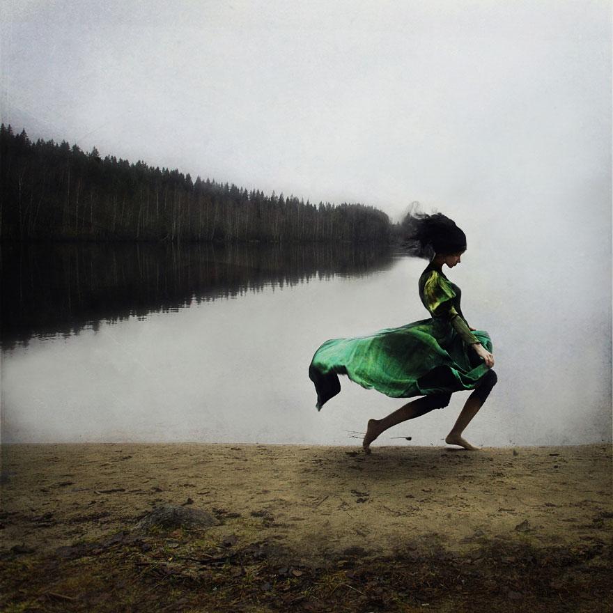 A fluidez na perspectiva de uma mulher que deixou a carreira para se dedicar a fotografia.