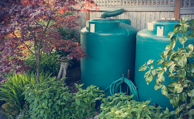 Projeto de cisterna para coletar água da chuva