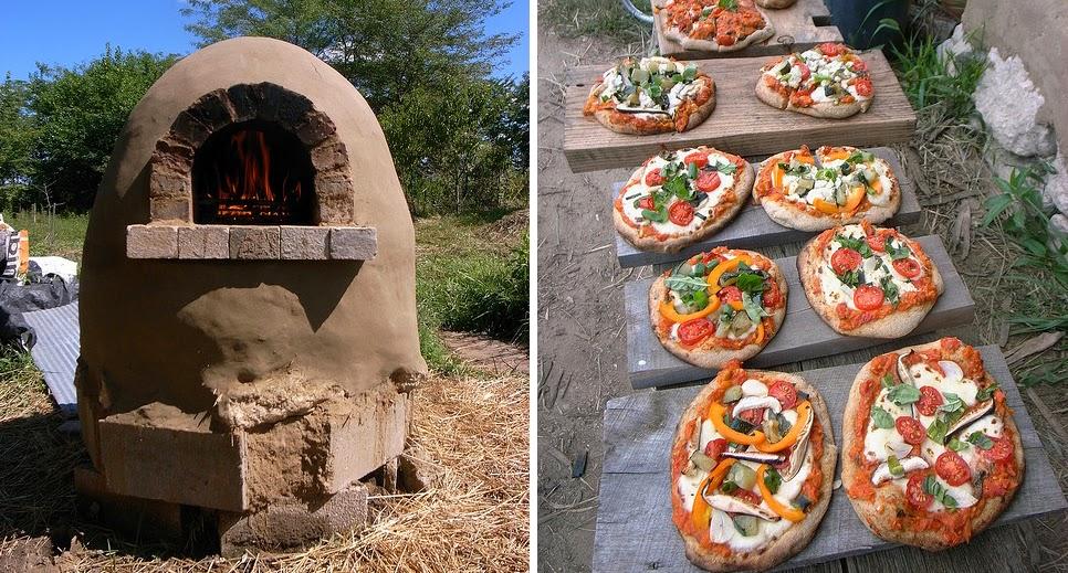 Construa um tradicional forno de barro (fotos)
