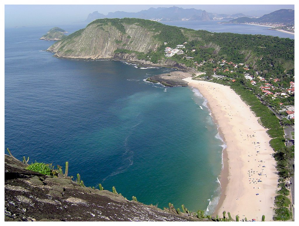 A vista do Costão, Itacoatiara