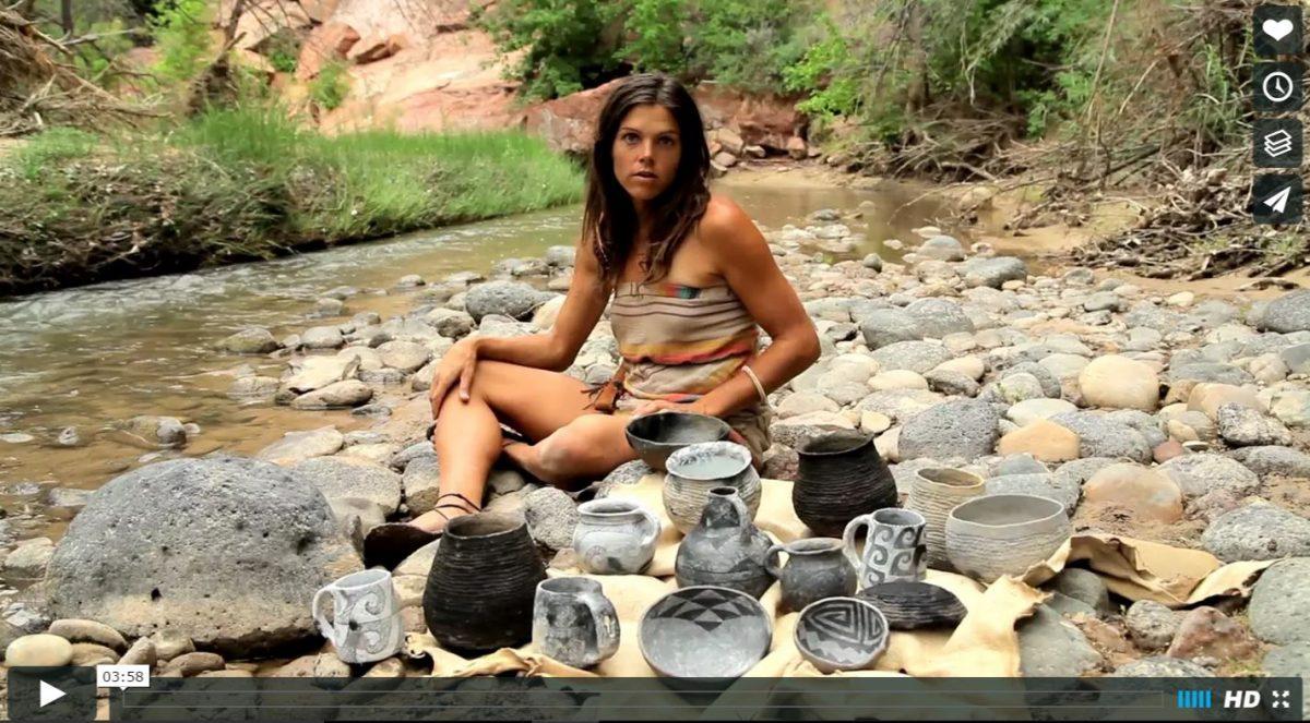 Video: Cerâmica primitiva na natureza selvagem