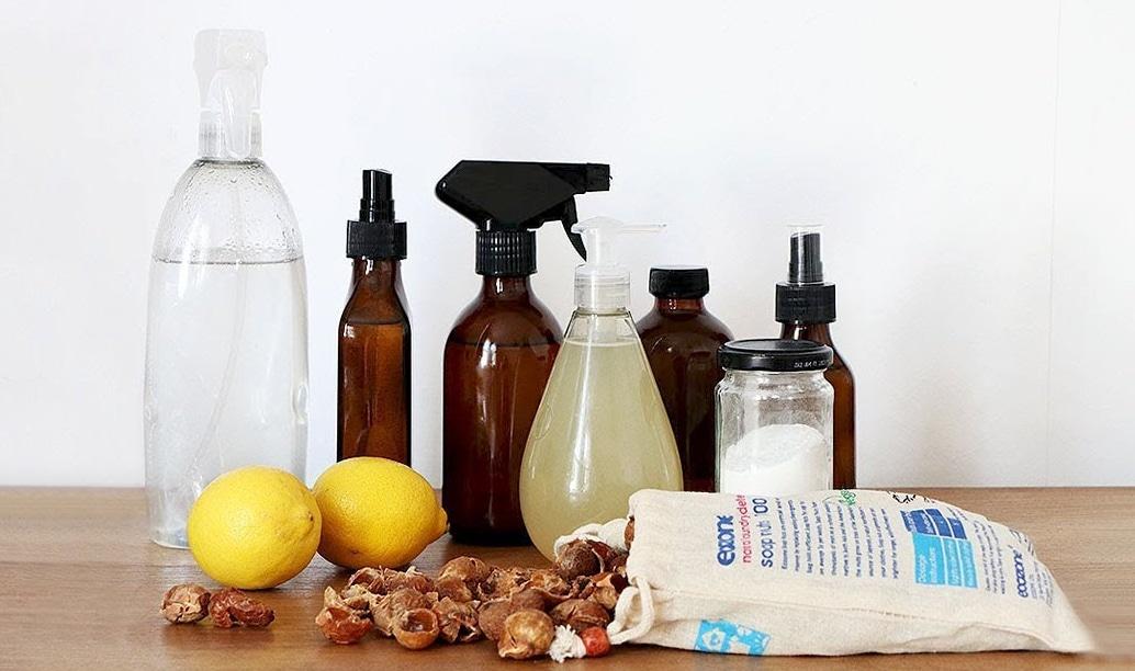 Cartilha de produtos naturais para cuidados pessoais e do ambiente