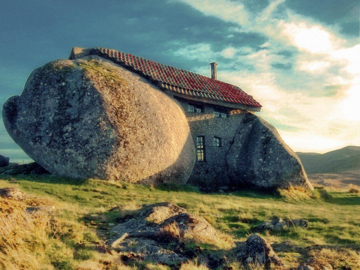 Essa é uma dentre as mais estranhas e facinantes casas do mundo
