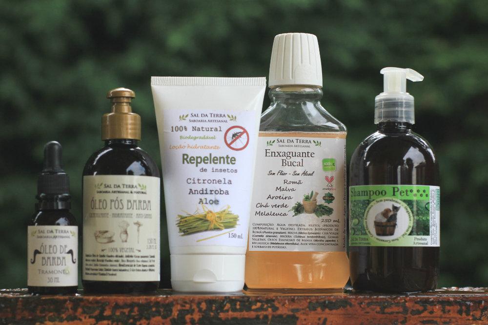 Sal da Terra Saboaria: Produtos 100% naturais para higiene pessoal