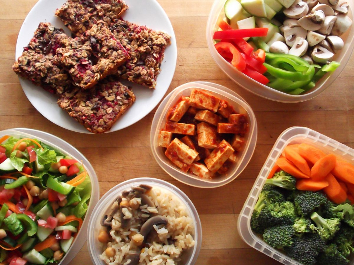 Combinações veganas na cozinha