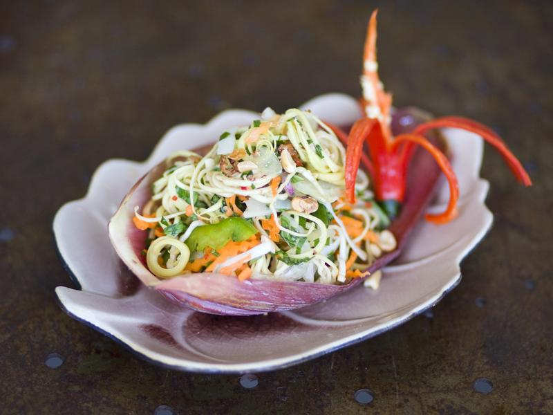 Salada Vietnamita de Flor de Banana