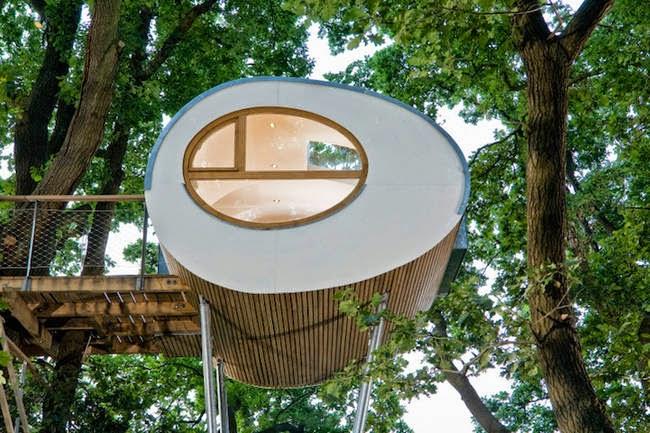 Uma casa na árvore simplesmente incrível