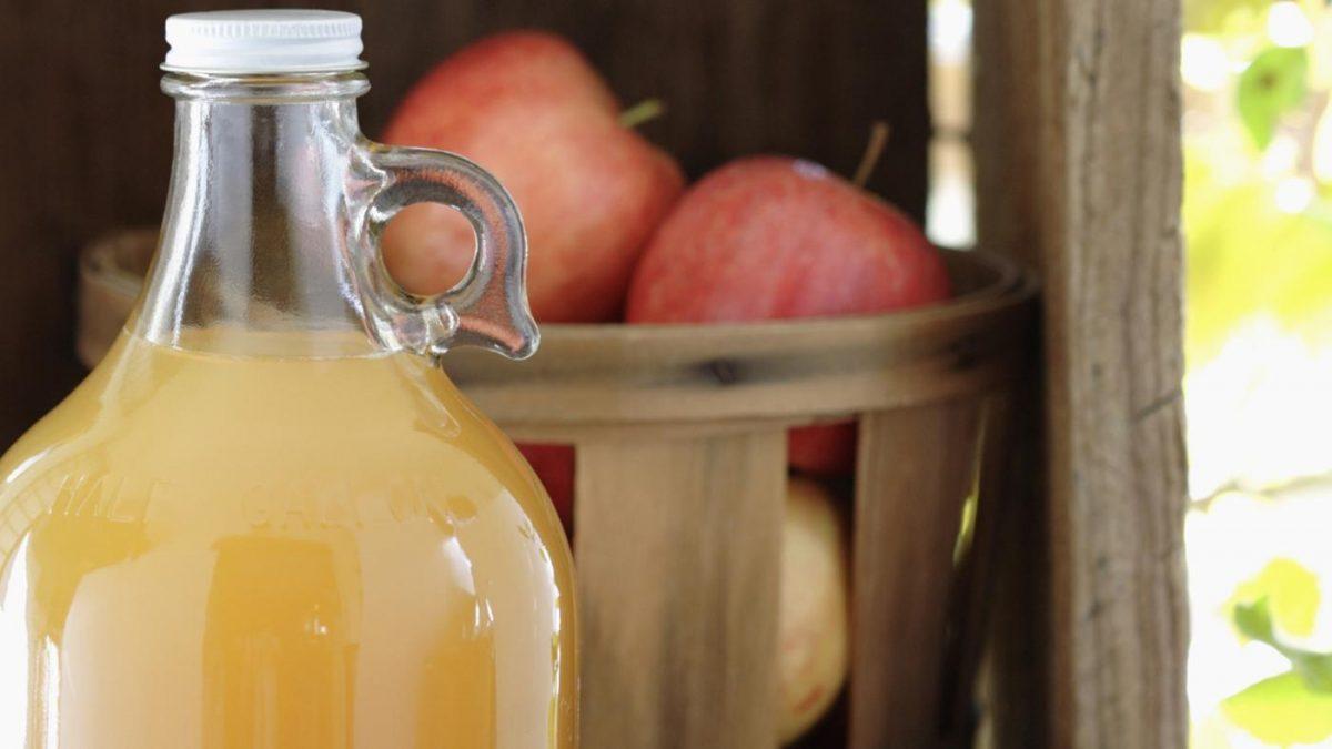 Aprenda a fazer sidra de maçã