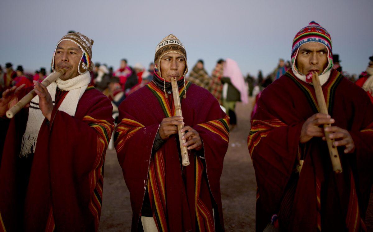 O solstício de inverno traz o novo ano aos indígenas latino-americanos