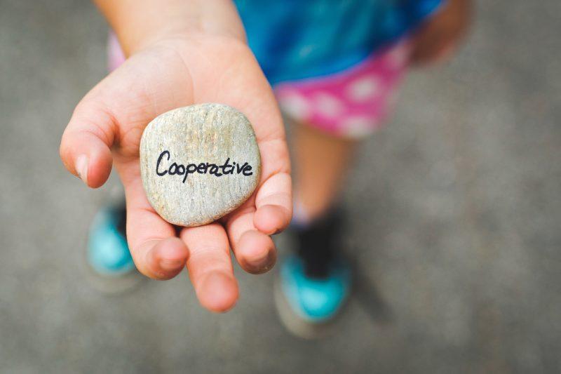 Cooperação como caminho para a felicidade!