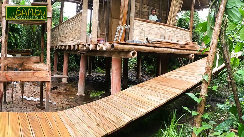 Bambu da Mantiqueira – Construção com Bambu