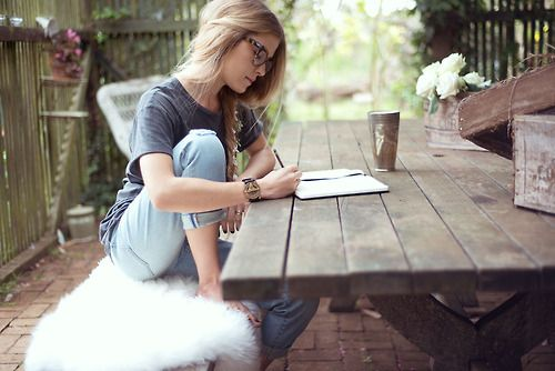 escrita meditativa