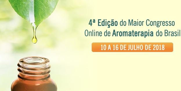 Aprenda sobre Aromaterapia no CONAROMA – congresso online e gratuito
