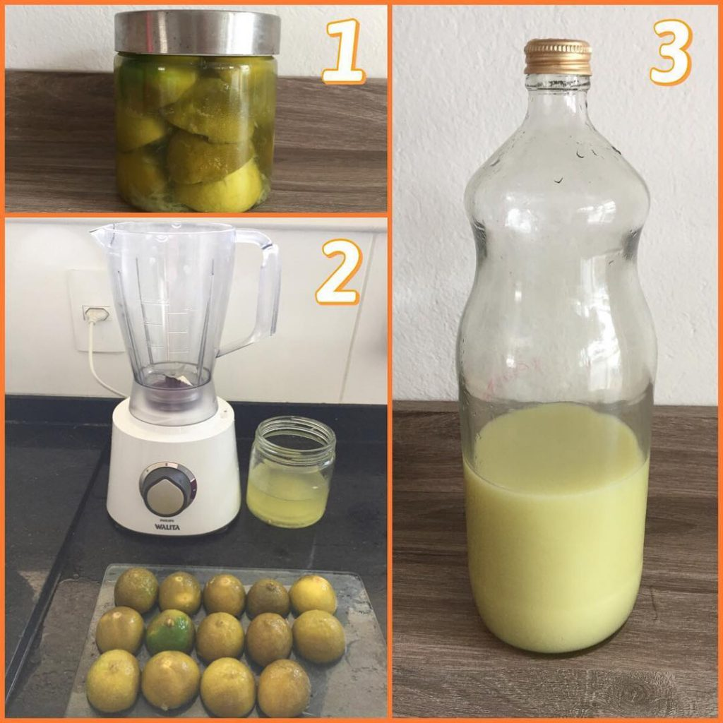 Desinfetante natural de limão
