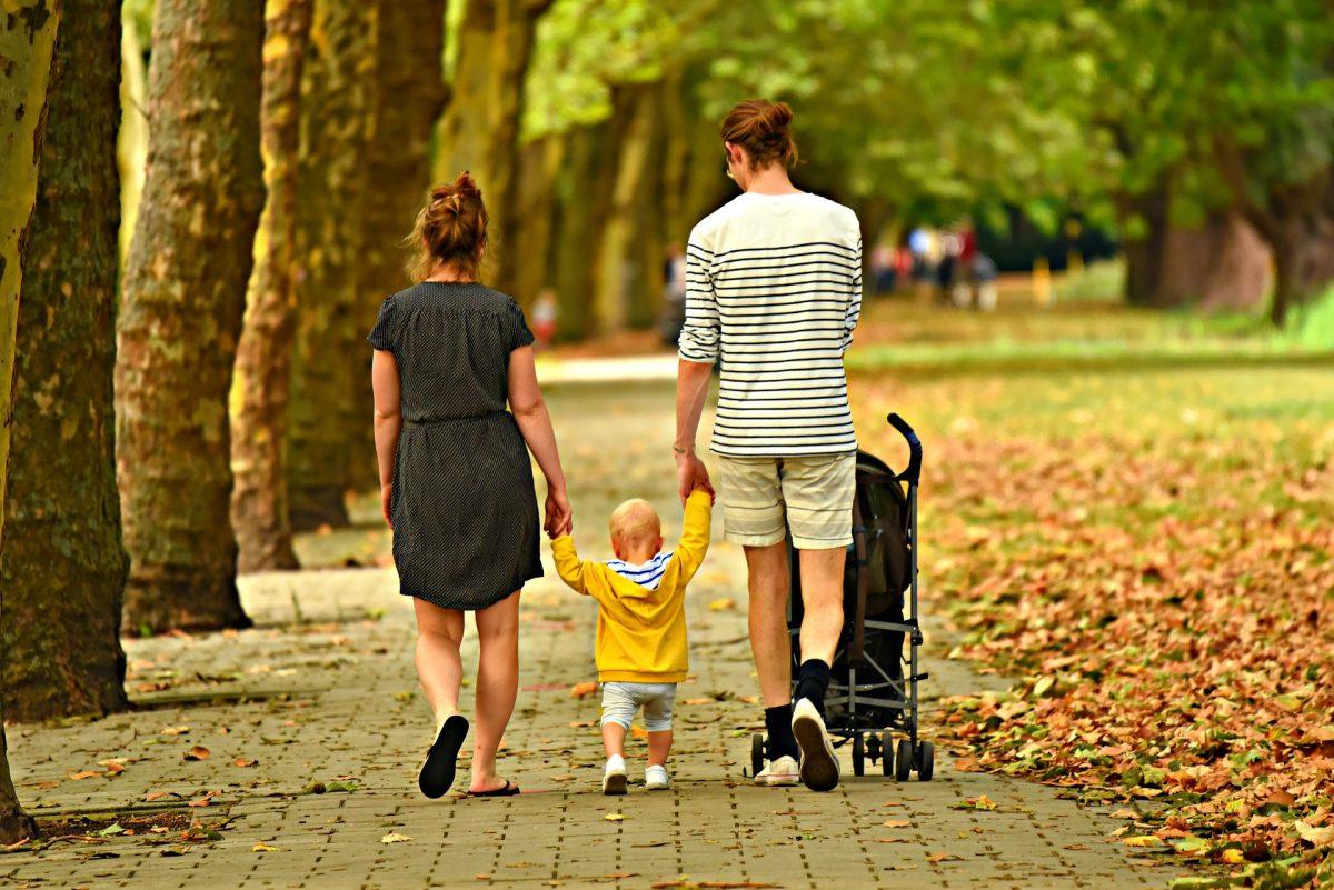 7 razões para levar seus filhos para uma caminhada