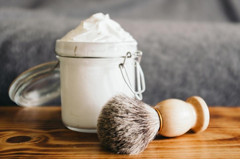 creme de barbear natural