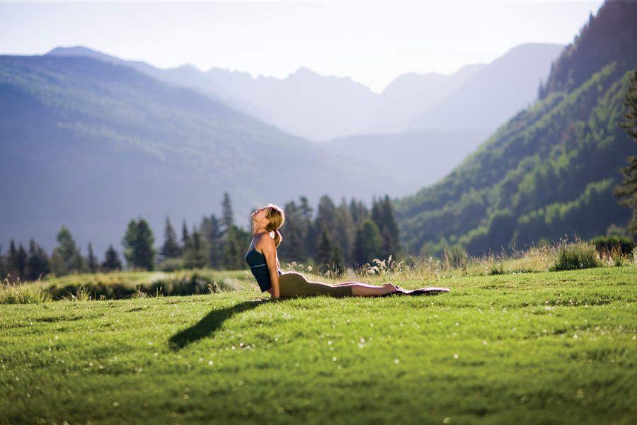 yoga natureza